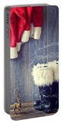 Santa's Boots Portable Battery Charger