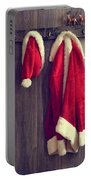 Santa's Hat And Coat Portable Battery Charger