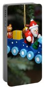 Santa's Train Delivery Portable Battery Charger