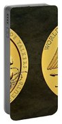 Santee Sioux Tribe Code Talkers Bronze Medal Art Portable Battery Charger