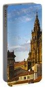 Santiago De Compostela Cathedral Galicia Spain Portable Battery Charger