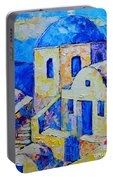 Santorini Afternoon Portable Battery Charger
