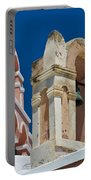 Santorini Bell Towers Portable Battery Charger