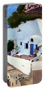 Santorini Cave Homes Portable Battery Charger