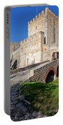 Sao Jorge Castle In Lisbon Portable Battery Charger