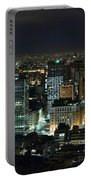 Sao Paulo Downtown From Terraco Italia Portable Battery Charger