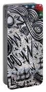 Sao Paulo Graffiti Vii Portable Battery Charger by Julie Niemela