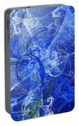 Sapphire In Blue Lace Portable Battery Charger