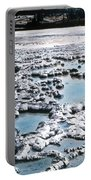 Sapphire Pool Yellowstone National Park Portable Battery Charger