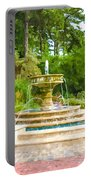 Sarah Lee Baker Perennial Garden 5 Portable Battery Charger