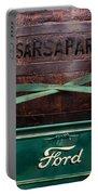 Sarsaparilla Portable Battery Charger