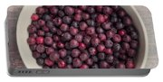 Saskatoon Berries Portable Battery Charger