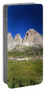 Sassolungo From Sella Pass Portable Battery Charger
