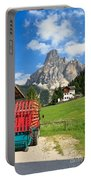 Sassongher Mount From Corvara Portable Battery Charger