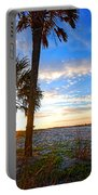 Saturated Sunrise Portable Battery Charger