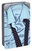 Saturday Morning - Men's Fashion Art By Sharon Cummings  Portable Battery Charger