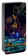 Saturday Night At Coney Island Portable Battery Charger