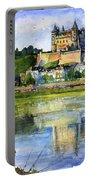 Saumur Chateau France Portable Battery Charger