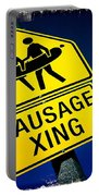 Sausage Crossing Portable Battery Charger