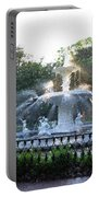 Savannah Georgia Forsyth Park Fountain Portable Battery Charger