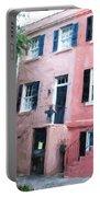 Savannah Georgia Shades Of Pink Portable Battery Charger