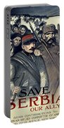 Save Serbia Our Ally Portable Battery Charger by Theophile Alexandre Steinlen