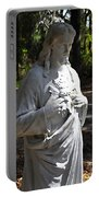 Savior Statue Portable Battery Charger by Al Powell Photography USA