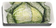 Savoy Cabbage  Portable Battery Charger