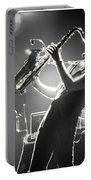Sax In Black Portable Battery Charger
