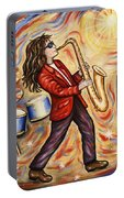 Sax Man Portable Battery Charger