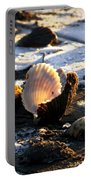 Half Shell On Ice Portable Battery Charger