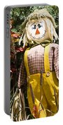 Scare Crow Portable Battery Charger by Carolyn Marshall