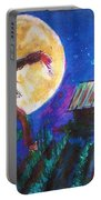 Scarecrow Dancing With The Moon Portable Battery Charger