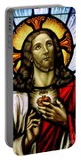 Scared Heart Of Jesus Portable Battery Charger