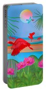 Scarlet Party - Limited Edition 1 Of 20 Portable Battery Charger
