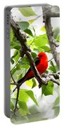 Scarlet Tanager - 11 Portable Battery Charger