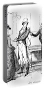 Scene From Pride And Prejudice By Jane Austen Portable Battery Charger