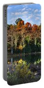 Scenic Autumn At Oakley's Portable Battery Charger