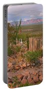 Scenic Boothill Cemetery In Tombstone Arizona Portable Battery Charger