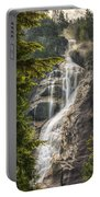 Scenic Of Shannon Fallsbritish Columbia Portable Battery Charger