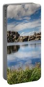 Scenic Sylvan Lake At Custer State Park Portable Battery Charger