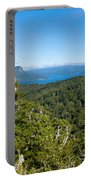 Scenic Urewera Np With Lake Waikaremoana In Nz Portable Battery Charger