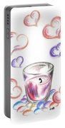 Scented Candle With Love Portable Battery Charger
