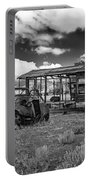 Schellbourne Station And Old Truck Portable Battery Charger by Robert Bales