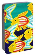 School Of Fish Portable Battery Charger