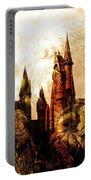 School Of Magic Portable Battery Charger by Anastasiya Malakhova