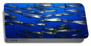 School Of Pacific Sardines 5d24927 Portable Battery Charger