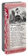 School Trade Card, C1860 Portable Battery Charger