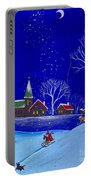 Scottie Sleigh Ride Portable Battery Charger