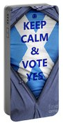 Scottish Businessman Votes Yes Portable Battery Charger